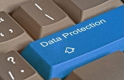 数据保护的钥匙 免版税库存图片