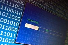 数据处理 免版税图库摄影
