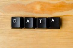 数据字 免版税库存照片