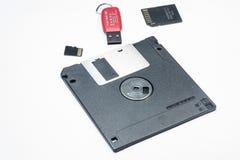 数据存储设备 图库摄影