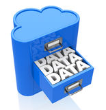 数据存储 免版税图库摄影