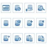 数据库图标管理 免版税库存图片
