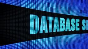 数据库安全边发短信给移动LED墙板显示标志板 股票视频