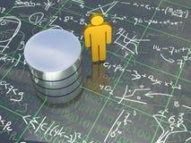 数据库工程师 免版税库存照片