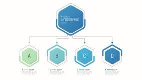 数据形象化的Iinfographic模板 4个选择 图库摄影