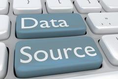 数据来源概念 向量例证