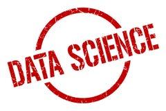 数据科学邮票 库存例证