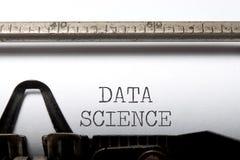 数据科学 免版税库存照片