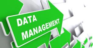 数据管理。互联网概念。 免版税库存图片