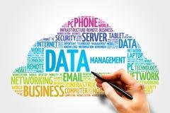 数据管理 免版税库存照片