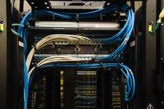 数据缆绳 库存图片