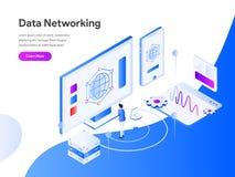 数据网等量例证概念 r 向量例证