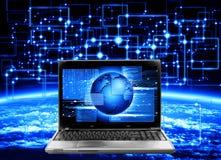 数据通信的空间 免版税图库摄影