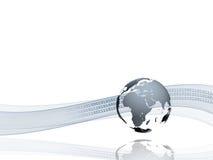 数据internetional调用 库存例证