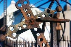 数电烙十字架并且耸立,新奥尔良 图库摄影