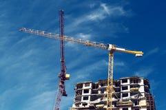 整体的住宅建筑物 免版税库存照片