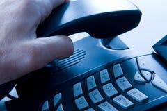 整理的电话 免版税库存照片