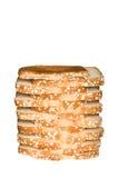 整粒面包的燕麦 库存图片