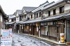 仓敷,日本- 2014年4月28日:Bikan历史地区看法  库存图片