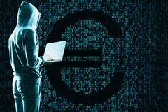 文丐和cryptocurrency概念 库存照片
