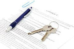 文件合法的销售额 免版税库存照片