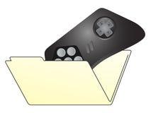文件夹作用 免版税库存图片