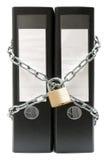 文件夹保护 免版税图库摄影