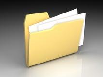 文件夹图标 免版税图库摄影