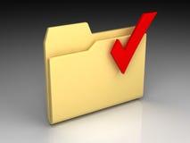 文件夹图标 库存图片