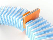 文件夹图标 图库摄影