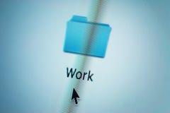 文件夹,计算机屏幕 库存照片