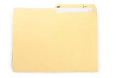 文件夹 免版税图库摄影