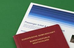 文件旅行 免版税库存图片