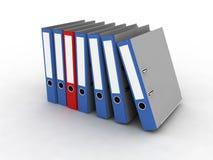 文件的文件夹 库存图片