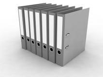 文件的文件夹 免版税图库摄影