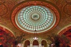 文化中心的芝加哥 免版税库存图片