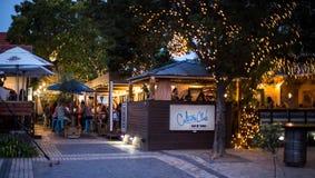 文化俱乐部在Hazelwood在晚上 图库摄影