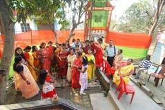 文化印地安人 库存照片
