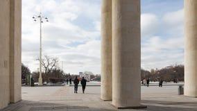 文化和休闲,莫斯科中央公园  图库摄影