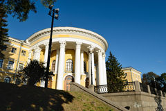 文化和艺术(10月宫殿),基辅的国际中心 免版税图库摄影