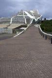 文化城市在加利西亚 库存图片