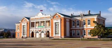 文化宫殿 乌斯曼 俄国 图库摄影