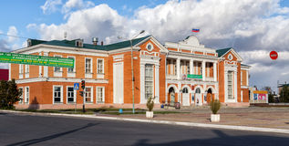 文化宫殿 乌斯曼 俄国 免版税图库摄影