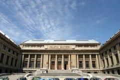 文化宫殿ploiesti 免版税库存图片