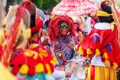 文化狂欢节在柏林,德国 库存图片