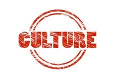 文化红色不加考虑表赞同的人 库存图片