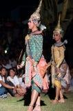 文化舞蹈戏曲泰国khon的显示 图库摄影