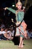 文化舞蹈戏曲泰国khon的显示 库存照片