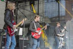 年轻文化节日哈尔登(挪威) 2015年4月15日到18日, 免版税库存照片