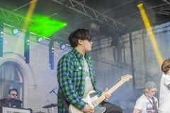 年轻文化节日哈尔登(挪威) 2015年4月15日到18日, 免版税库存图片
